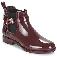 Shoes Women Wellington boots André THAMES Bordeaux