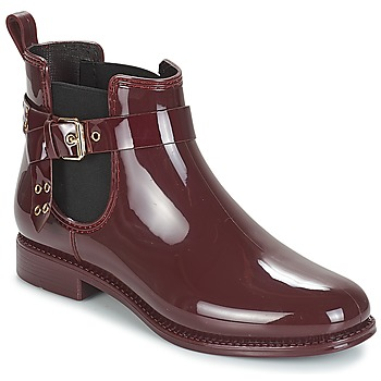 Shoes Women Wellington boots André THAMES Bordeaux