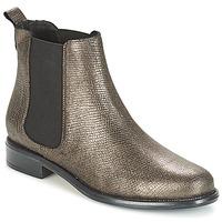 Shoes Women Mid boots André CARAMEL Bronze