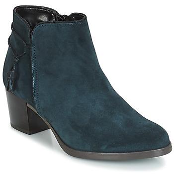 Shoes Women Ankle boots André MISTINGUETTE Blue