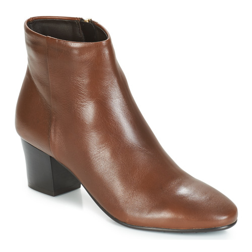 Shoes Women Ankle boots André FAME Brown
