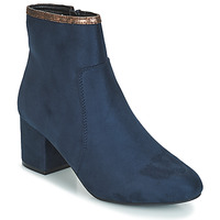 Shoes Women Mid boots André FALOU Blue