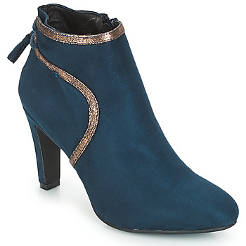 Shoes Women Ankle boots André AUREL Blue