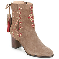 Shoes Women Ankle boots André TZIGANE Beige