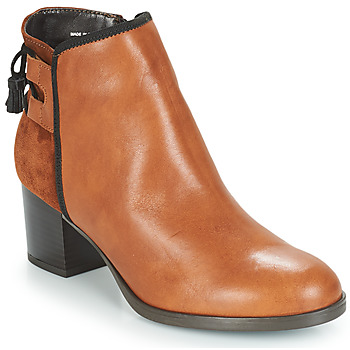 Shoes Women Mid boots André TIRON Brown