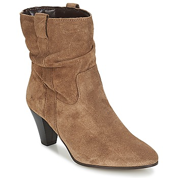 Shoes Women Ankle boots André FANFAN Beige