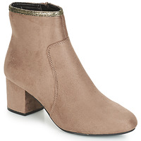 Shoes Women Mid boots André FALOU Beige