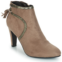 Shoes Women Mid boots André AUREL Beige