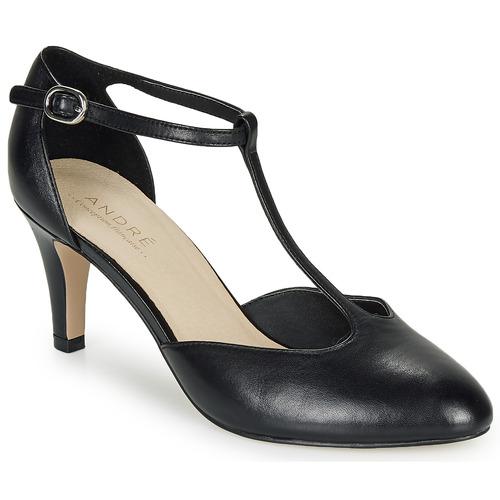 Shoes Women Court shoes André FALBALA Black