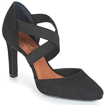 Shoes Women Court shoes André FIONA Black