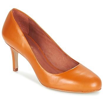 Shoes Women Court shoes André FLAVIE Brown / Orange