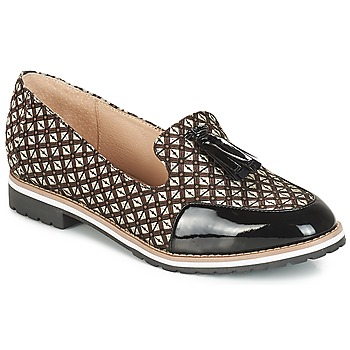 Shoes Women Loafers André EMOTION Brown