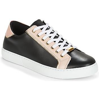 Shoes Women Low top trainers André BERKELITA Black / Beige