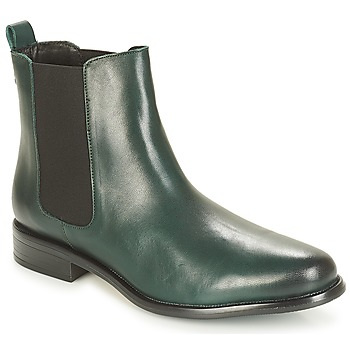 Shoes Women Mid boots André CARAMEL Green