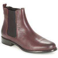 Shoes Women Mid boots André CARAMEL Bordeaux