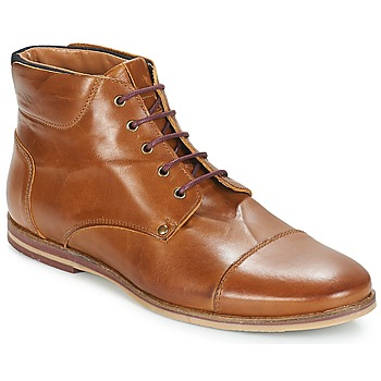 Shoes Men Mid boots André SOMME Brown