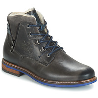 Shoes Men Mid boots André GUINEE Black