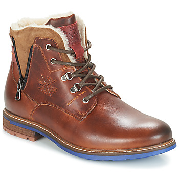 Shoes Men Mid boots André GUINEE Brown