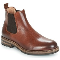 Shoes Men Mid boots André SOPRANO Brown