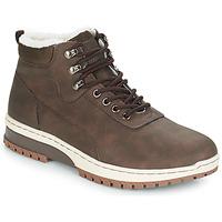Shoes Men Mid boots André EVEREST Brown