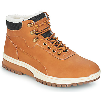 Shoes Men Mid boots André EVEREST Brown