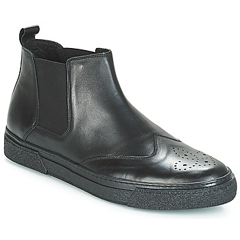 Shoes Men Mid boots André OASIS Black