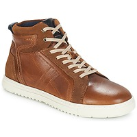 Shoes Men High top trainers André RANDONNEUR Brown
