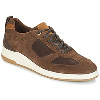 Shoes Men Low top trainers André CINZA Brown