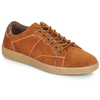 Shoes Men Low top trainers André LENNO Brown
