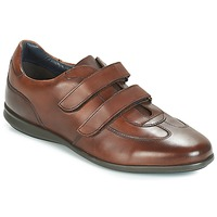 Shoes Men Low top trainers André FACILE Brown
