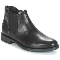 Shoes Men Mid boots André VALOREILLE Black