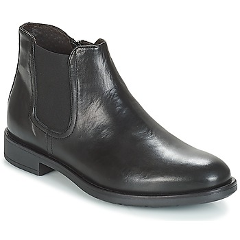 Shoes Men Mid boots André VALOREILLE Black