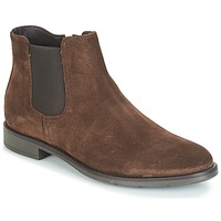 Shoes Men Mid boots André VALOREILLE Brown