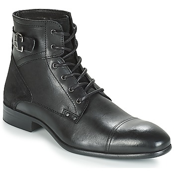 Shoes Men Mid boots André PHILIPPE Black