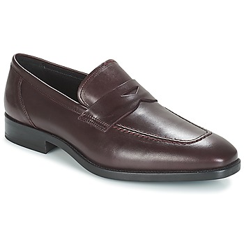 Shoes Men Loafers André MOC Bordeaux