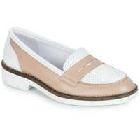 Shoes Women Loafers André NINOU Beige
