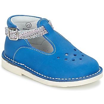 Shoes Girl Ballerinas André LE SABLIER Blue