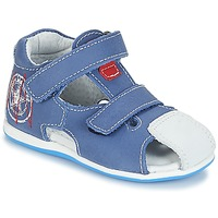 Shoes Boy Sandals André LE MARIN Blue
