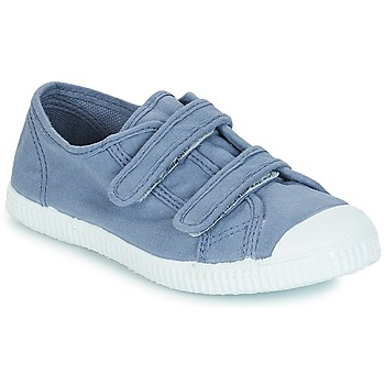 Shoes Boy Low top trainers André LITTLE SAND Blue