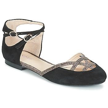 Shoes Women Ballerinas André POUPETTE Black