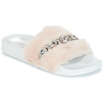 Shoes Women Sliders André DIADEME White