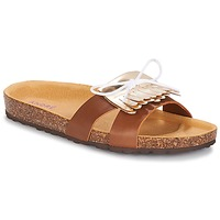 Shoes Women Mules André COMORES Camel