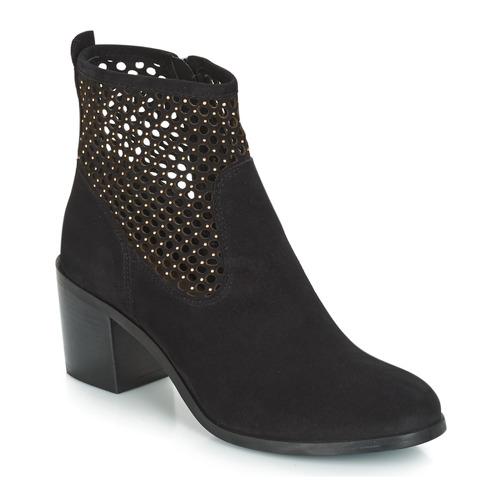 Shoes Women Mid boots André TOTEM Black