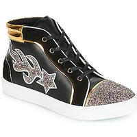 Shoes Women High top trainers André LOTUS Black