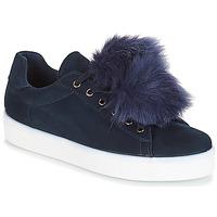 Shoes Women Low top trainers André POMPON Blue