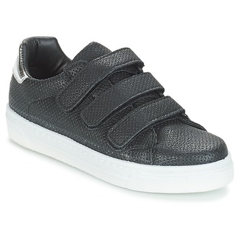 Shoes Women Low top trainers André CARLINE Black
