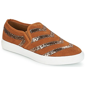 Shoes Women Slip ons André LOUXOR Brown