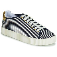 Shoes Women Low top trainers André JASPER Striped / Blue