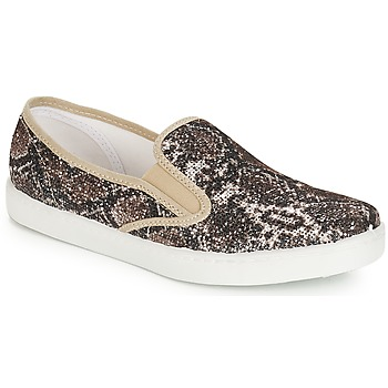 Shoes Women Slip ons André SAUVAGE Beige
