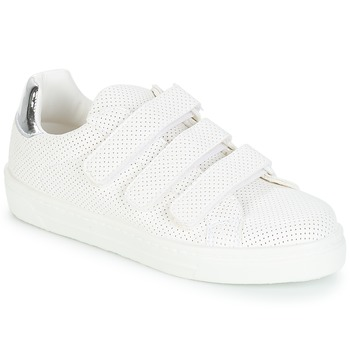Shoes Women Low top trainers André CARLINE White
